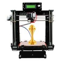 Geeetech I3 Pro B 3d принтер акриловая рамка новейший Reprap Prusa DIY Kit машина высокая точность Impressora lcd бесплатно