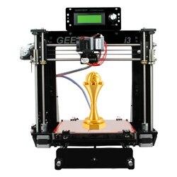 Geeetech I3 Pro B akrylowa ramka drukarki 3D najnowszy Reprap Prusa zestawy diy wysokiej precyzji Impressora LCD za granicą magazyn w Drukarki 3D od Komputer i biuro na
