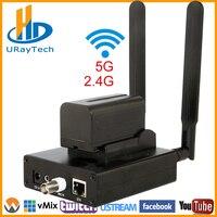 Wireless H.264 Analog SD Video CVBS RCA AV To IP Streaming Encoder BNC To IP Transmitter WIFI Live Broadcast Encoder RTMP RTMPS