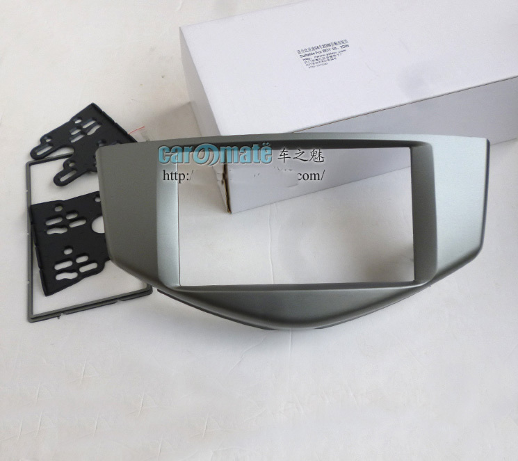 Gray Car refitting DVD frame Car Audio Dash Kit Facia for BYD S6 2011+ Headunit Installation Fascia Face Plate Panel Frame #3002