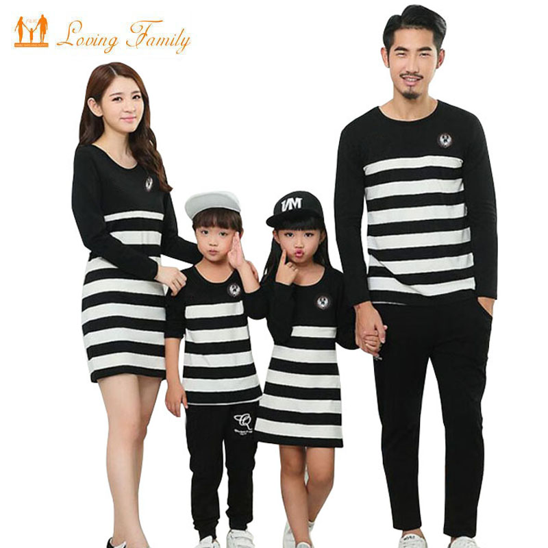 mae baughter vestidos familia combinando roupas listrado familia roupas pai mae menina menino camisas calcas familia