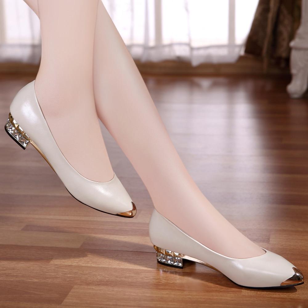 Zapatos Para Dama Tacon Bajo