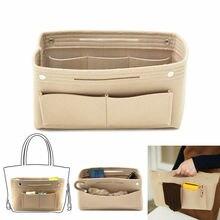 Женская сумка-Органайзер для шкафа, кошелек, войлочный вкладыш, органайзер, сумка для путешествий