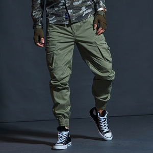 Image 3 - זרוק משלוח 2020 סתיו טקטי גברים של מכנסיים מטען מזדמן רב כיס צבאי מכנסיים ארוך מכנסיים 29 38 AXP127