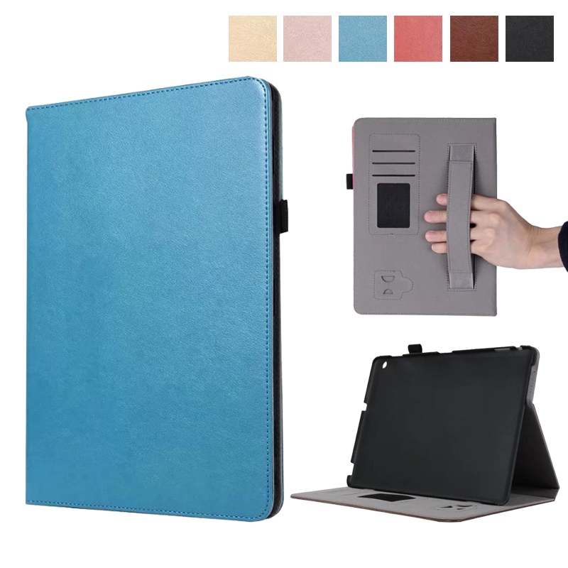 Premium PU Leather Case All-Powerful Protective Stand Cover for Huawei MediaPad M3 Lite 10 BAH-W09 10.1 Tablet with Hand Strap pu leather case cover for huawei mediapad m3 lite 8 0 stand hand holder case for huawei m3 8 0 cpn w09 cpn al00 with card slots