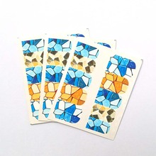 Nail Stickers Water Decals Floral Animal Geometry Slider Manicure Art Decoration C14