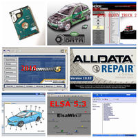 2018 Hot sale Alldata Software Alldata 10.53 and mitchell ondemand 2015v Auto Repair Software All data Manager plus ELSAWin 5.3