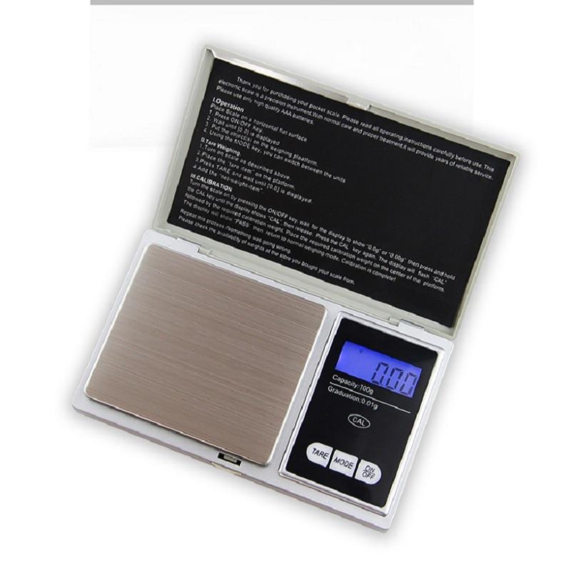 Täpse digitaalkaaluga 100 g x 0,01 g korduvpulbriga terade ehete - Mõõtevahendid - Foto 4