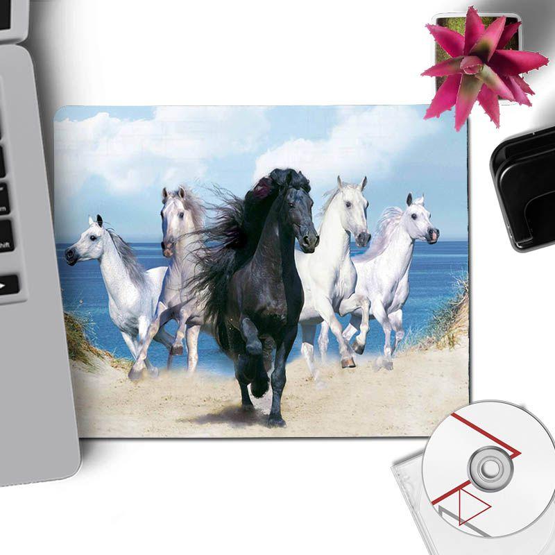 Yinuoda My Favorite running horse Large Mouse pad PC Computer mat Size for 18x22cm 20x25cm 25x29cm 30x90cm 40x90cm
