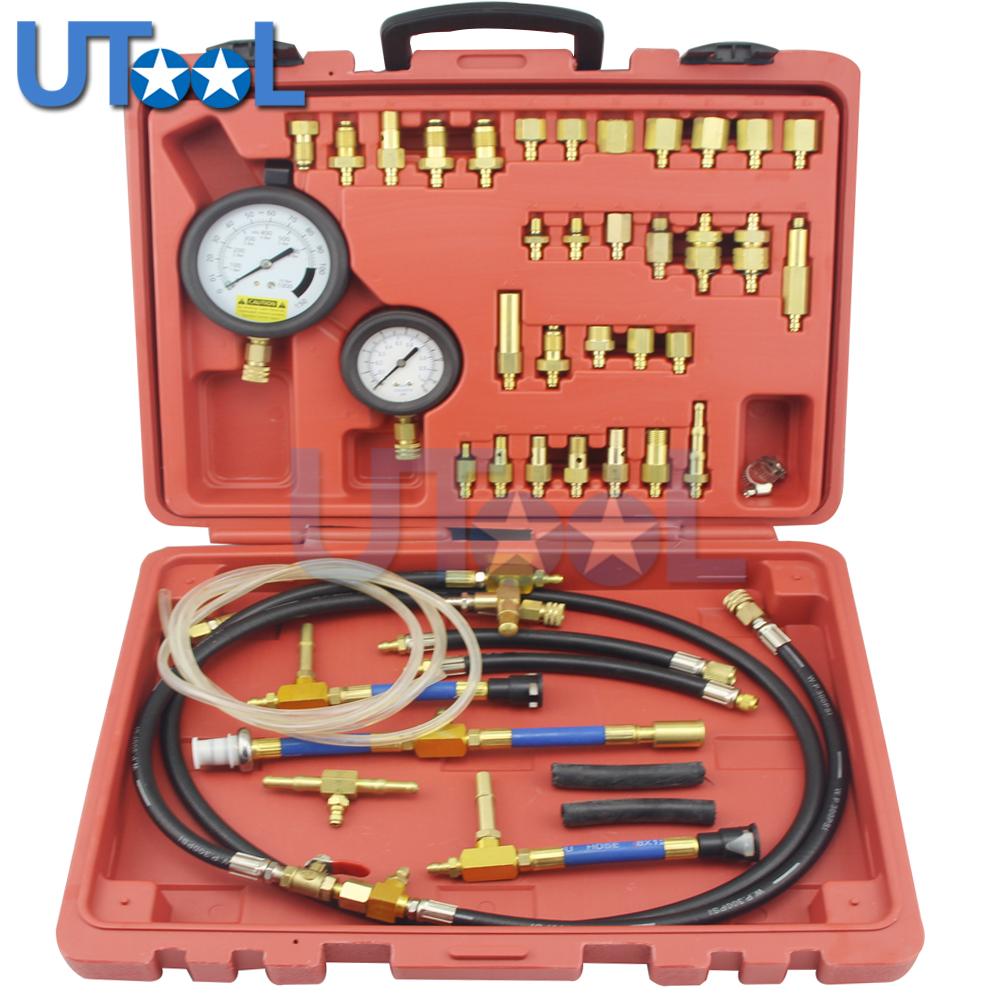 41 PC Master Fuel Pump Injection Pressure Tester Gauge Kit