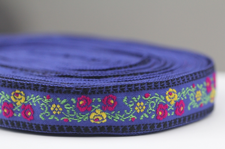 Diy Borduurwerk Jacquard Singels Tape Lace Trim Kledingstuk Accessoire Jurk Decoratie Lint 2.3 Cm Etnische Boho Gypsy Hmong Zakka Sew Zorgvuldige Verfprocessen