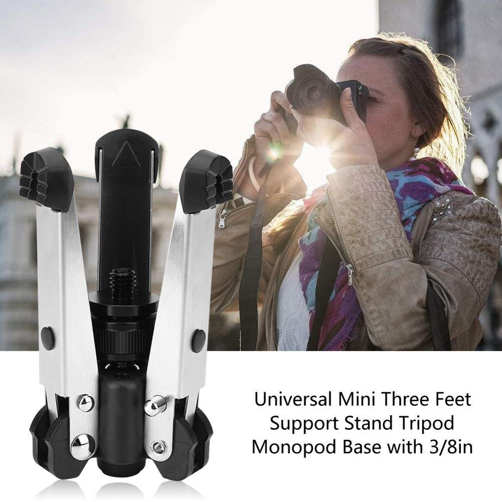 Professional Metal Fodling Tripod Mount Stand with Ball Head for Phone Tablet Camera in Tripod Legs from Consumer Electronics