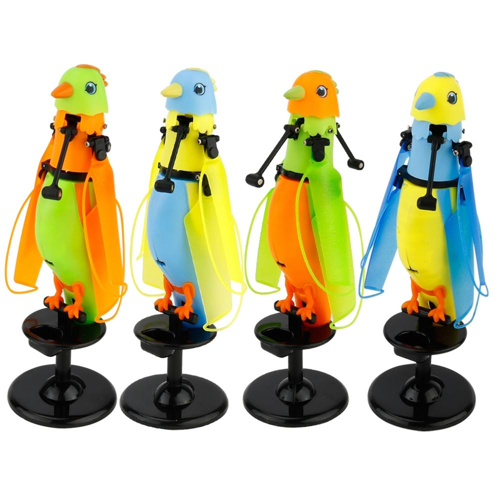 LeadingStar Hand Induction Flight Parrot Cute Ornamentation Children Electronic Toy with Flash Bird Sounds and Music