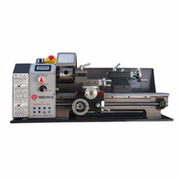 600W Speed High Power Brushless Motor Machine Tool Metal Lathe All Steel Lathe Machine with Switch Control WM210V G