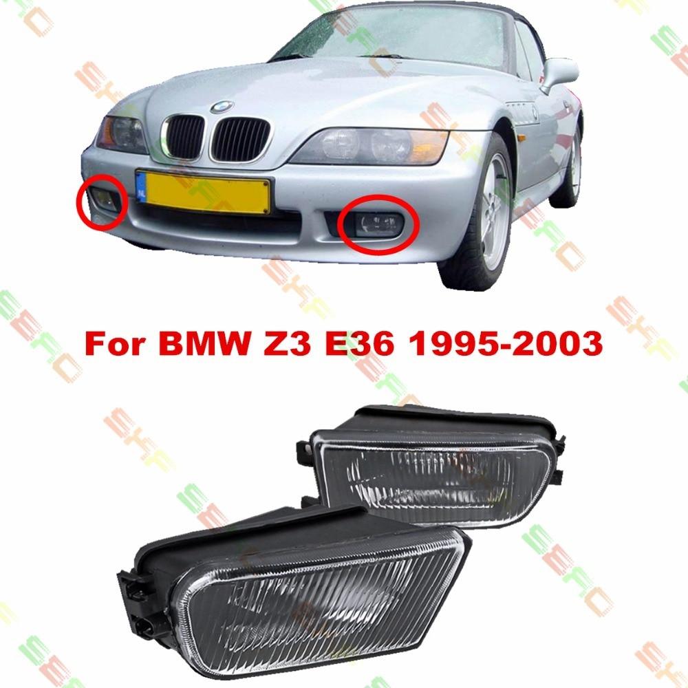 For BMW Z3 E36  1995/96/97/98/99/2000/01/02/03  car styling fog lights FOG LAMPS  1 SET  Pattern glass рубашка gerry weber gerry weber ge002ewaboc6