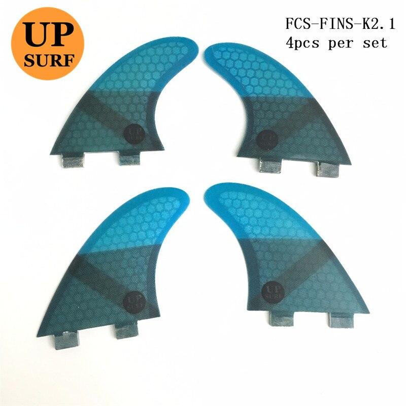 Upsurf Water Sport Surf FCS Fins K2.1 Honeycomb Fiber Fiber Surfboard - Ջրային մարզաձեւեր - Լուսանկար 3