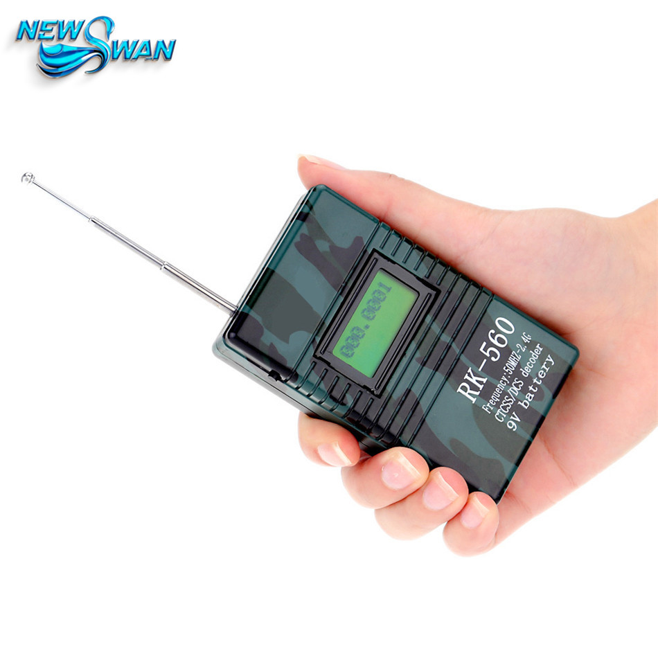 Rk560 50mhz 24ghz Portable Handheld Frequency Meter Counter Circuits Instrument Dcs Ctcss Radio Testing In Equipment From Tools On Alibaba