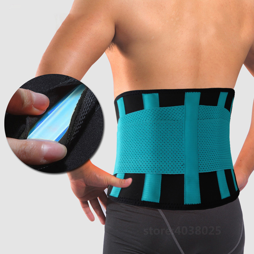 Médica Cintura Cinta de Volta Cinto de Suporte Da Coluna Lombar Respirável Das Mulheres Dos Homens Cintos Espartilho Ortopédico Dispositivo Voltar Brace & Suporte