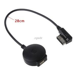 Image 2 - Ami mmi mdi adaptador sem fio bluetooth usb mp3 para audi a3 a4 a5 a6 q5 q7 após 2010