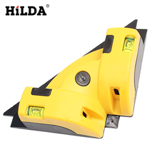 цена на Right Angle 90 Degree Vertical Horizontal Laser Line Projection Square Level