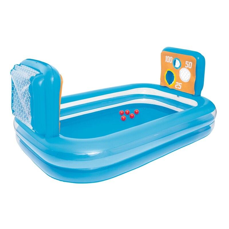 240 cm compétence gonflable tir jouer piscine pour enfants été eau sol nager jouets en plein air amusement radeau Boia Piscina