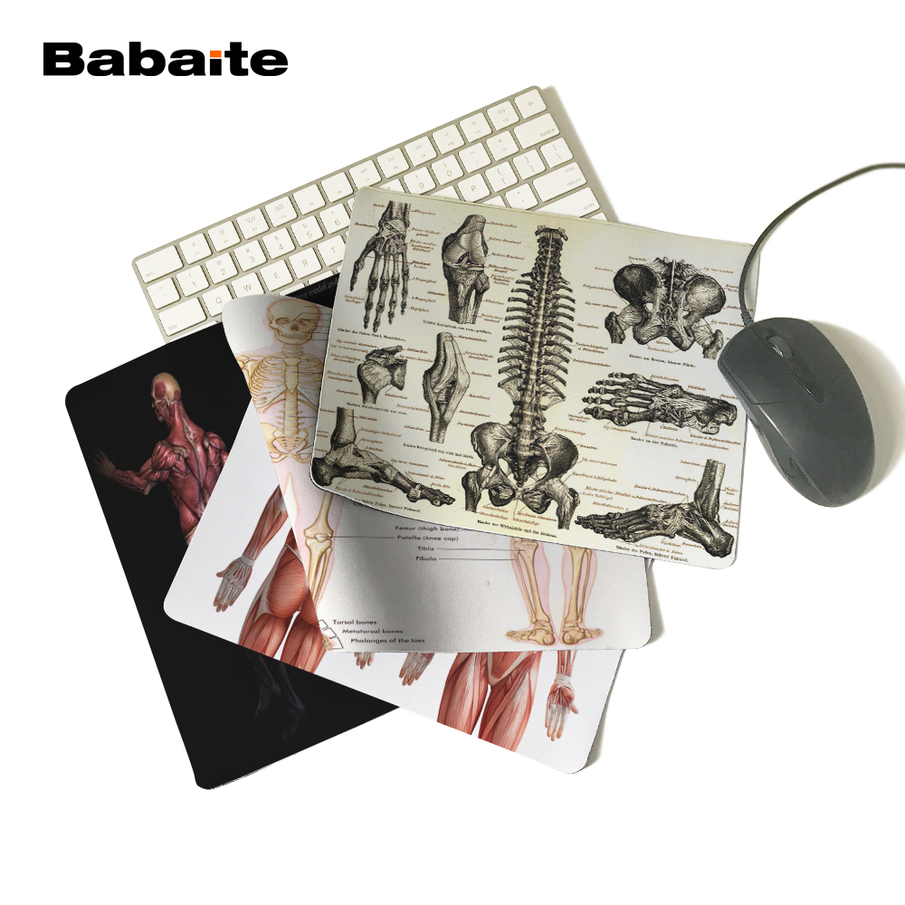 Babaite medicine anatomy Durable Chic Mouse Pad 180x220x2mm ...
