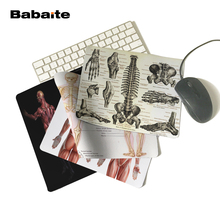 Babaite medicine anatomy Durable Chic Mouse Pad 180x220x2mm 250x290x2mm Personalized Item