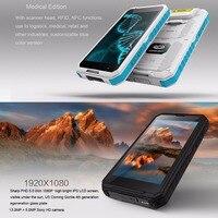 מכשיר הקשר כיבוש S10 IP68 מכשיר הקשר Rugged טלפון להוסיף פנס חזק / בר / QR Code / RFID / NFC ו- IOT Intelligent Handheld Smartphone (4)
