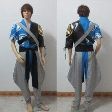 OW над и смотреть brother Hanzo косплей костюм, полный набор любого размера