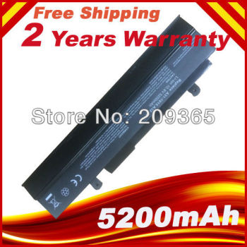 Black Laptop Battery For ASUS Eee PC 1011 1011B 1011BX 1011C 1011CX 1011H 1011HA 1011HA_GG 1011HAB image