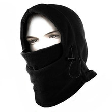 Thermal Motorcycle Outdoor Balaclava Neck Winter Ski Face Mask Cap Cover Hat HOT(China)