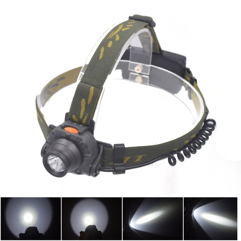 XPE LED IR Headlamp Mini Headlight Flashlight Rainproof Outdoor Camping head Light Lamp Torch Lantern Power by AAA 18650 Battery r3 2led super bright mini headlamp headlight flashlight torch lamp 4 models