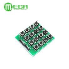 1PCS 4×4 Matrix 16 Keypad Keyboard Module 16 Button Mcu