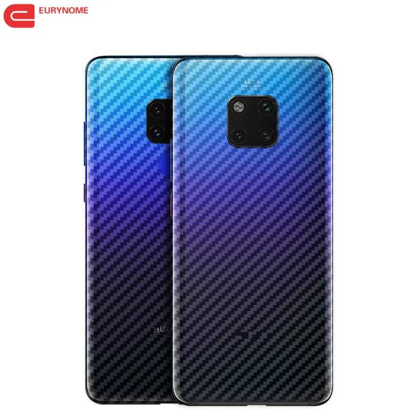 For Huawei Mate 20 P30 Lite Pro Mate 20 X Carbon Fiber Protective Back Film Rear Screen Protector For Huawei Mate 10 Pro Lite