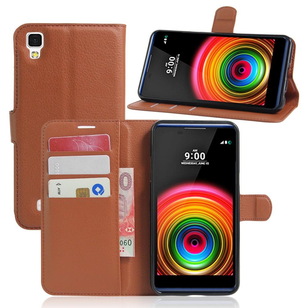 Dla lg x power k220ds case odwróć portfel pu skórzane etui telefon dla lg x power k210 k220 pokrywa uchwyt stojak telefon fundas ls755 torba 2