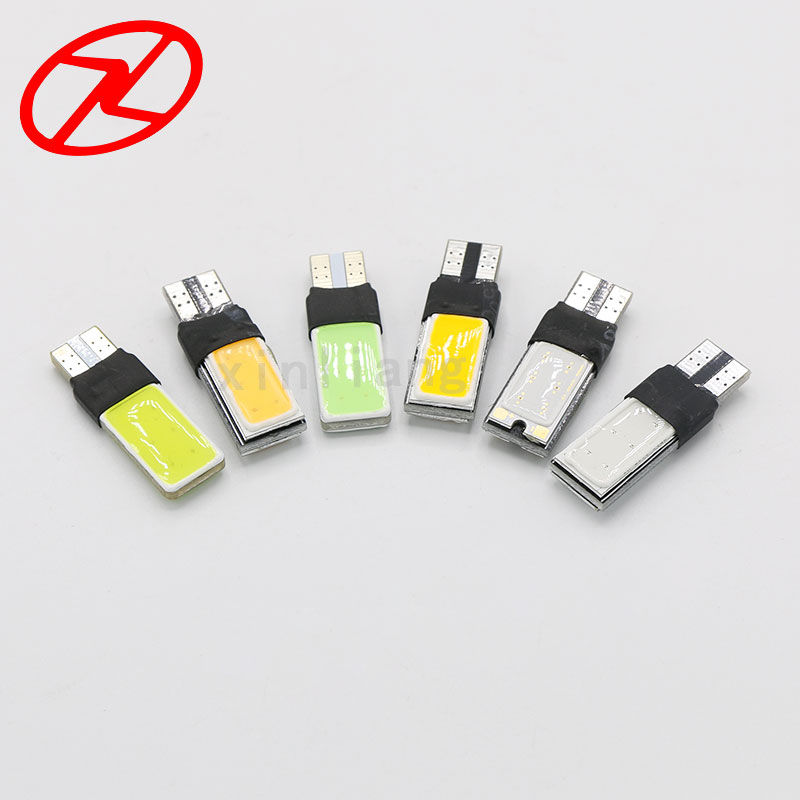 4PCS T10 W5W 194 168 LED COB Canbus Side Wedge Light Bulb Auto Car Parking Lamp 12V White Red Blue Ice Blue Pink Yellow top quality t10 194 168 cob 1 led w5w wedge side light car license plate bulb lamp dc12v pink green yellow red pure white