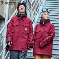 Новые уличные бренды unsex лыжный костюм мужской зимний m65 Снежная куртка катание на лыжах и Сноубординг ветрозащитный водонепроницаемая Лыж