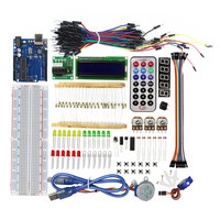 For Uno R3 Board Stepper Motor 1602 LCD DIY Project Starter Kit For Arduino UNO R3