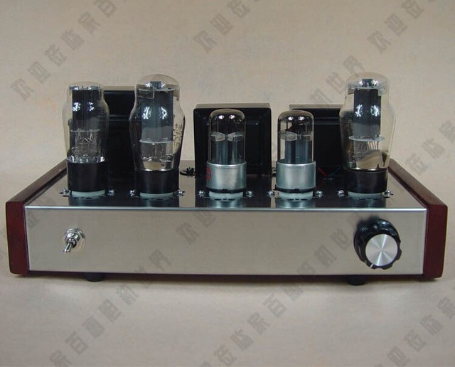 Us 140 0 Cnc Punching Diy 6n8p 6p3p Single Ended A Tube Amplifier Kit Tube Amp Kit In Amplifier From Consumer Electronics On Aliexpress Com