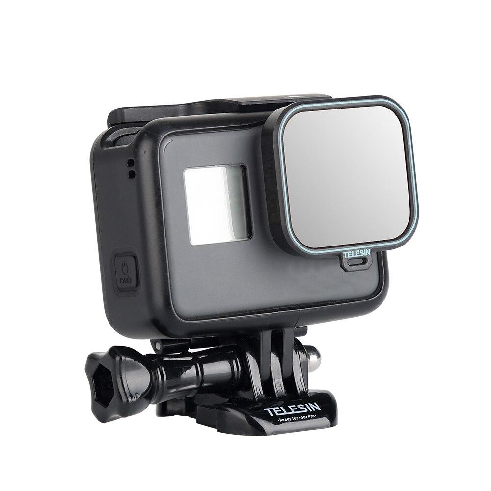 TELESIN Polarisierende Filter Circular Objektiv Protector Schutz CPL Objektiv Filter für GoPro Hero 5 Hero 6 Hero 7 Kamera Zubehör