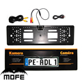 Nova Europa 170 graus vista de carro número da placa quadro Auto Universal Reversa Rear View Camera Backup 4 LED