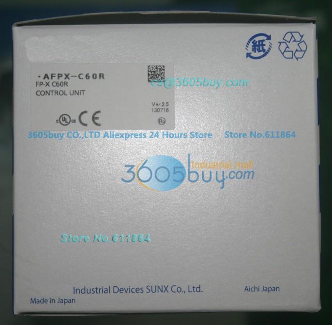 New Original PLC FP-X Series AFPX-C60RFP-X C60R