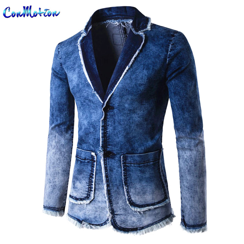 Popular Denim Suit Jacket-Buy Cheap Denim Suit Jacket lots from ...