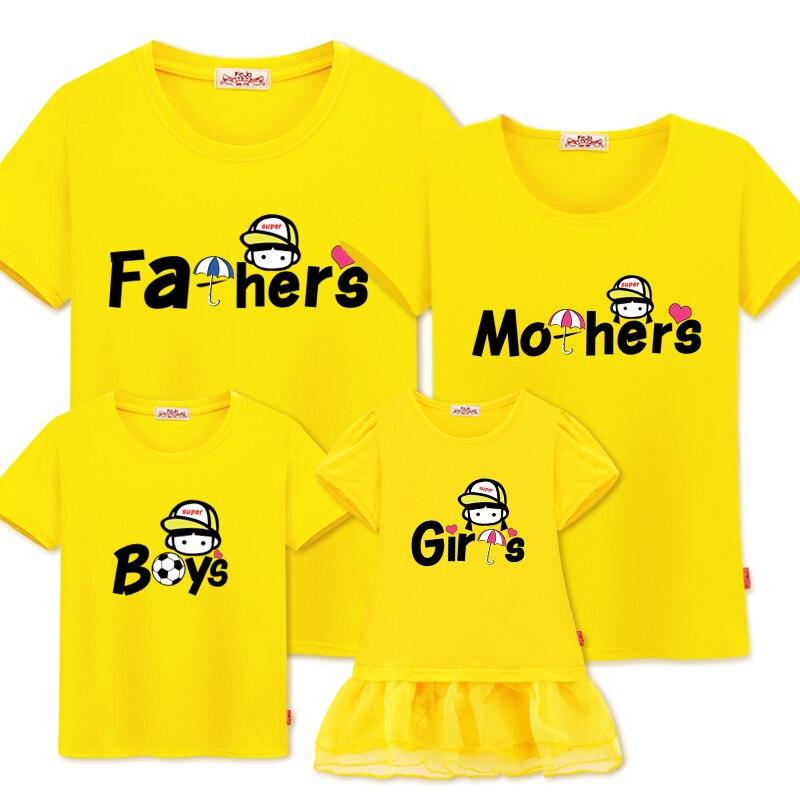 Сім'ї відповідний одяг новий літній - Дитячий одяг - фото 2