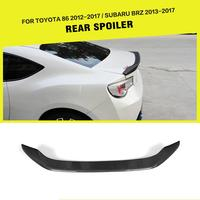 GT86 FT86 BRZ AD Style Carbon Fiber Auto Car Accessories Rear Trunk Wing Lip Spoiler For