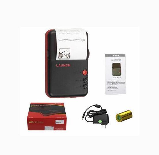 2018 nouveauté D'origine X-431 V Mini Imprimante Pour Le Lancement X431 V + mini Imprimante Boîte travail D'enregistrement avec wifi