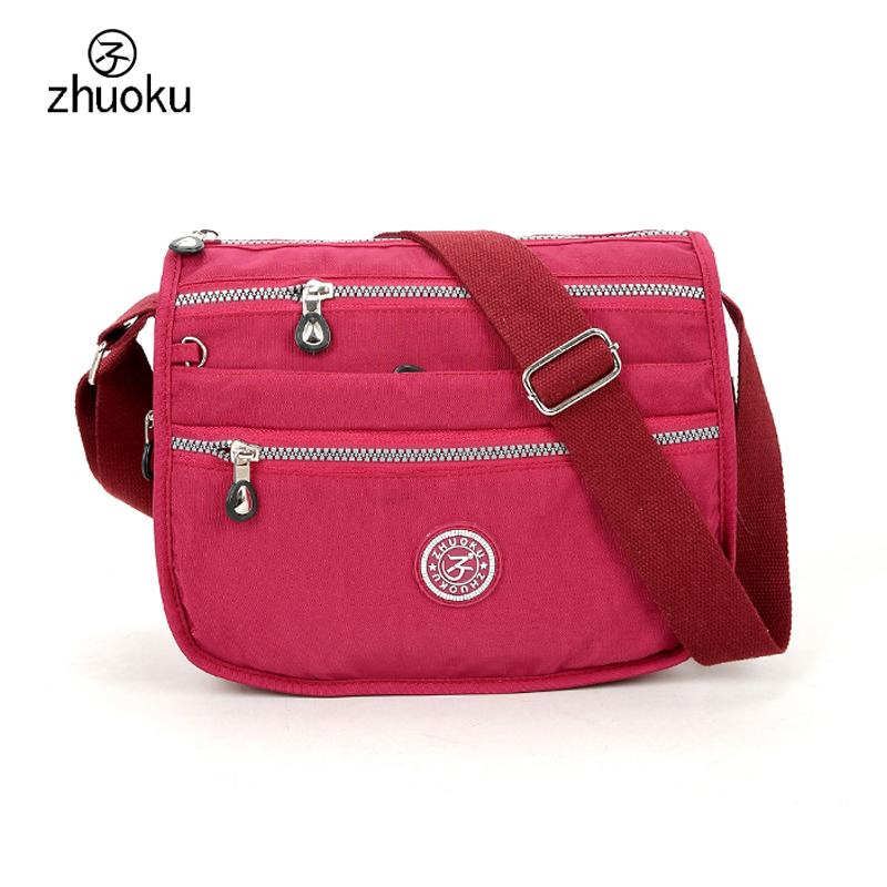 Women Messenger Bags Small Shoulder Bags Kiple Style Purses And Handbag 2018 Brand Design Multi-layer Zipper Female Pouch ZK738