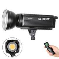 Godox SL-200W 200 Вт 5600 К Studio светодиодный непрерывной фото видео свет лампы wth удаленного