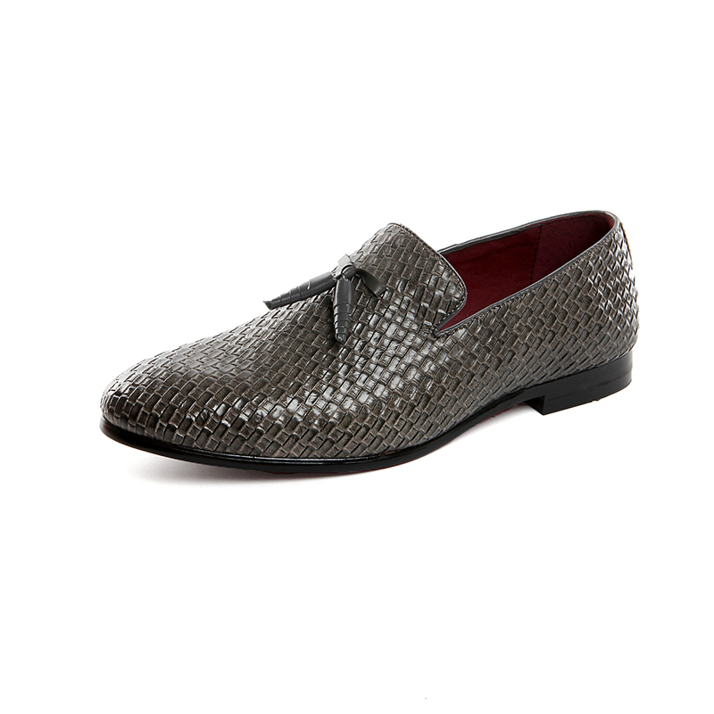 Automne Pointu on Printemps Hommes gris De Cuir Artificielle Slip Conduite Mens Baoluma Noir bleu En Oxford Souple Chaussures Bout Designer x6HpqSwF