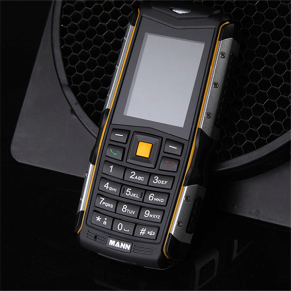 New 2.0 inch Original Phone MANN ZUG S Dustproof Shockproof Mobile Phone MTK6260A Dual SIm GSM Network GPRS Swedish Language